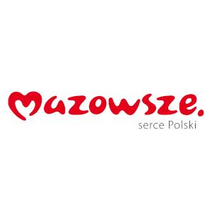 Województwo mazowieckie logotyp marki mazowsze serce Polski
