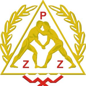 logotyp polski związek zapasów